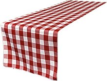 LA Linen Polyester Gingham Checkered 14 by