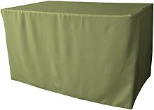 LA Linen Polyester Poplin Fitted tablecloth 48 by