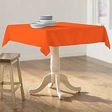 LA Linen Polyester Poplin Square Tablecloth,