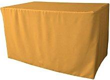 LA Linen TCpop 48x30x30_GoldP14 Polyester Poplin