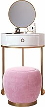 LAA Compact Dressing Table Vanity Desk with Flip