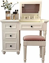 LAA Makeup Table Drawers Makeup Vanity Desk With