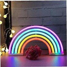 LAANCOO Rainbow LED Neon Lights Art Colorful Neon