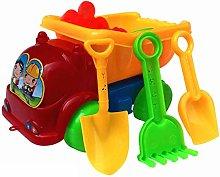 LAARNT 1Set (11pcs) Mini Beach car set toys,