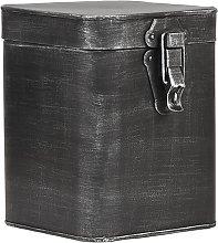 LABEL51 Storage Box 15x16x19 cm L Antique Black