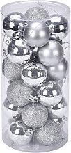 Labellevie 24 Pcs 40mm Traditional Shatterproof
