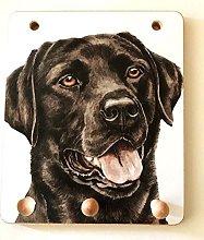 Labrador Black Dog Lover Gift - UK Artist
