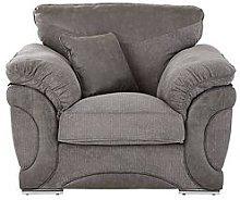 Labrinth Fabric Armchair