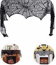 Lace Cobweb Fireplace Decoration, Fireplace Spider