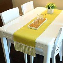 Lace Lattice Table Flag Simple Tassel Household