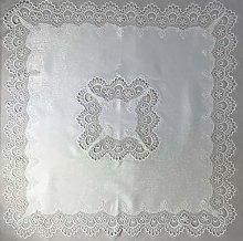 Lace Tablecloth 35 x 35 inch (85 x 85 cm) Square
