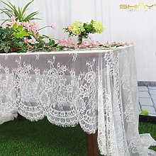 Lace Tablecloth White Table Cloths Rectangle 60 x