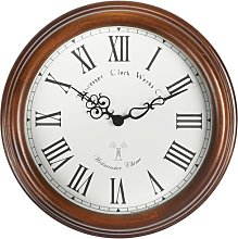 Lacock 39cm Radio Controlled Chiming Wall Clock