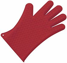 LACOR 5 Fingers Silicone Glove, Red, 30 x 2 x 30 cm