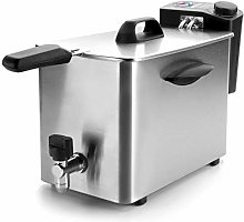 Lacor 69134 Electric Deep Fryer, Silver