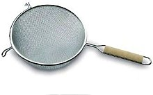 LACOR Double Mesh Strainer, Stainless Steel,