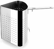 Lacor Stainless Steel 4 Segmented Colander,