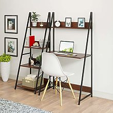 Ladder Computer Desk 2-Tier and