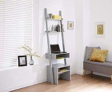 Ladder Shelving - 3 Tier, 5 Tier, Bookcase, Desk
