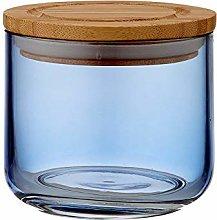 Ladelle - Stak Glass Canister - Dusky Blue - 9cm