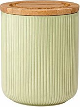 Ladelle Stak Textured Sage Canister, 13cm