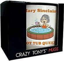 Ladies Hot Tub Mug Funny Hot Tub Presents for