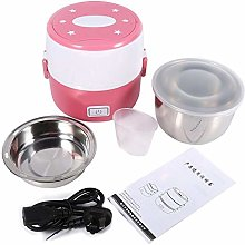 Ladieshow 220V 2 Layers Electric Heated Lunch Box