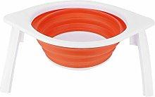 Ladieshow Orange Foldable Fruit Vegetable Washing