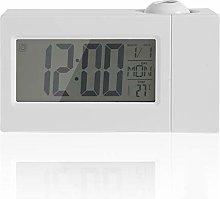 Ladieshow Projection Alarm Clock, LCD Digital