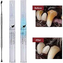 Laduup Teeth Cleaning Pen, Pet Teeth Cleaning Kit,