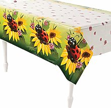 Ladybug Table Cover - Spring & Party Tableware