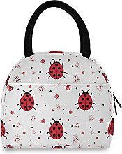 Ladybugs Lunch Bag Cooler Bag Insulated Lunch Box