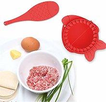 LAEMALLS Fish Shape Ravioli/Pierogi/Dumpling Maker
