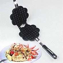 LAEMALLS Waffle Maker Machine, Heart shape,