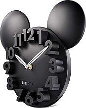 Lafocuse 3D Mickey Mouse Clock Black Super Cute