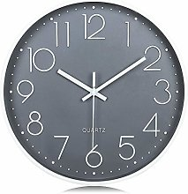 Lafocuse Frost Gray 3D Numerals Easy to Read Wall