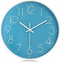 Lafocuse Modern Silent 3D Numerals Wall Clock Cute