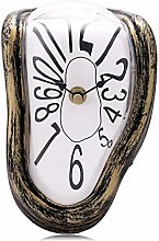 Lafocuse Vintage Melting Clock Silent Quartz
