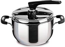 Lagostina Briosa Pressure Cooker with Ecodose 5 lt