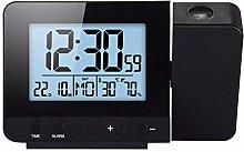 Laiashley Projector Alarm Clock for Bedroom,