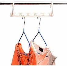 LAIQIAN 1pcs 3D Space Saving Hanger Magic Clothes