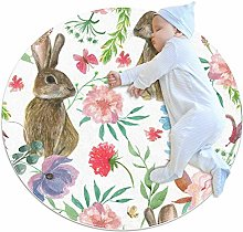 laire Daniel Beautiful Flowers And Bunny Butterfly