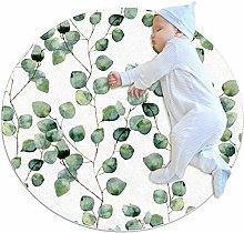 laire Daniel Watercolor Green Floral Eucalyptus