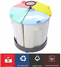 Laji 4 Categories Of Trash Cans, Household 4-color