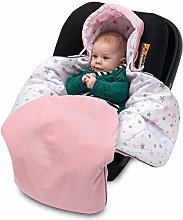 Lajlo Car Seat Blanket - Cotton & Velvet Cosy