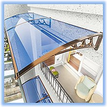 Lake Blue Overhead Door Polycarbonate Cover with
