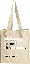 Lakeland Cotton Bag for Life - Fun Slogan Tote