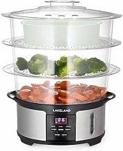 Lakeland Digital 3-Tier Electric Food Steamer 35 x
