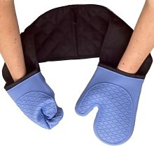 Lakeland Heat-Proof Double Sillicone Oven Gloves -