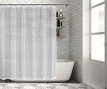 Lala + Bash shower curtain, White-Gold, 70x72